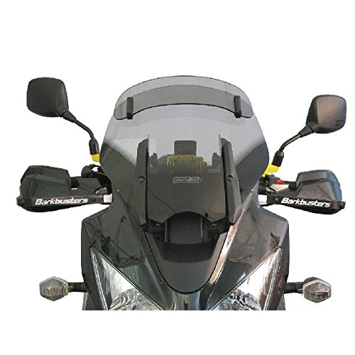 MRA VarioTouringScreen Windshield for Suzuki DL1000 / DL650 V-Strom, '04- (16.3-inches tall) (CLEAR)