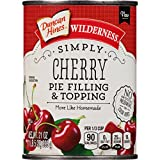 Wilderness Simply Pie Filling & Topping, Cherry, 21 Ounce (Pack of 8)