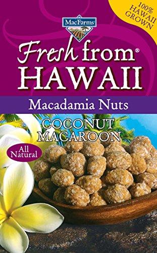 Coconut Macaroon Macadamia Nuts MacFarms 6 Oz. Bag Food ...