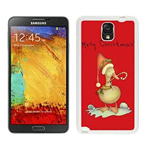Featured Desin Christmas duck White Samsung Galaxy Note 3 Case 1 by icecream design