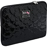 """Hello Kitty Loungefly Embossed Patent Logo Design 13"""" Laptop Sleeve"""