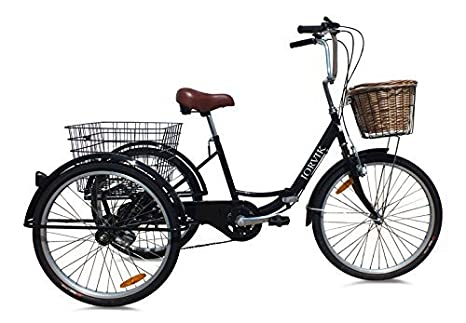 JORVIK 20 marcos de almacenamiento estilo vintage, para mascotas o niños, triciclo, disponible en varios colores, negro: Amazon.es: Deportes y aire libre