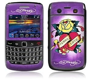 MusicSkins, MS-EDHY70043, Ed Hardy - Eternal Love Rose , BlackBerry Bold (9700), Skin