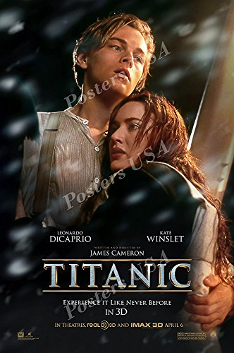 Posters USA Titanic Movie Poster GLOSSY FINISH - MOV252 )