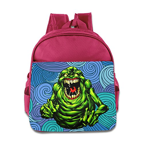 Pink Domo Costume (Logon 8 Green Cool Slimer Fashion School Bags Pink For 3-6 Years Olds Girls)