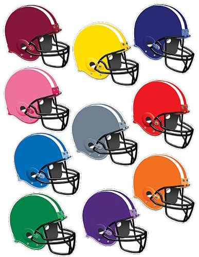 Teacher Created Resources 5286 Football Helmets Accents]()