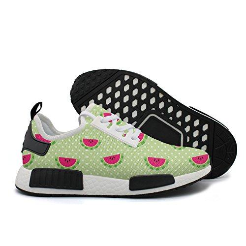 HSJDAPOCOAQ Fresh Cute Watermelon Girls' Comfort Sneakers by HSJDAPOCOAQ
