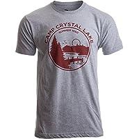 1980 Camp Crystal Lake Counselor | Funny 80s Horror Movie Fan Jason Joke T-Shirt
