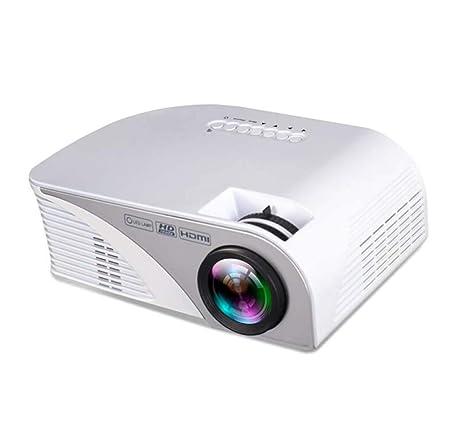 Mini proyector portátil de 1080p, proyector de Entretenimiento LED ...