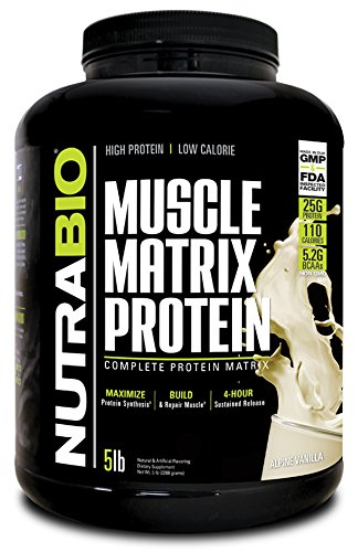 NutraBio Muscle Matrix (Vanilla, 5 pounds)