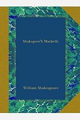 Shakspere'S Macbeth Paperback