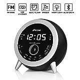 Best Bluetooth Alarm Clocks - ROCAM Bluetooth 4.1 Digital FM Alarm Clock Radio Review