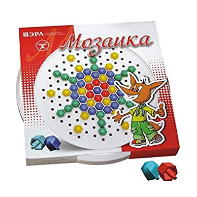 Era Classic Mosaic, 120 Elements Классическая мозаика, 120 элементов Klassicheskaya mozaika, 120 elementov: Toys & Games