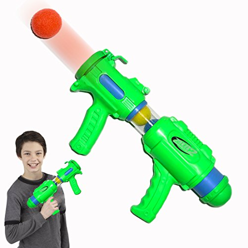Dazzling Toys 14 Inch Blasting Ball Shooter with 6 Balls.