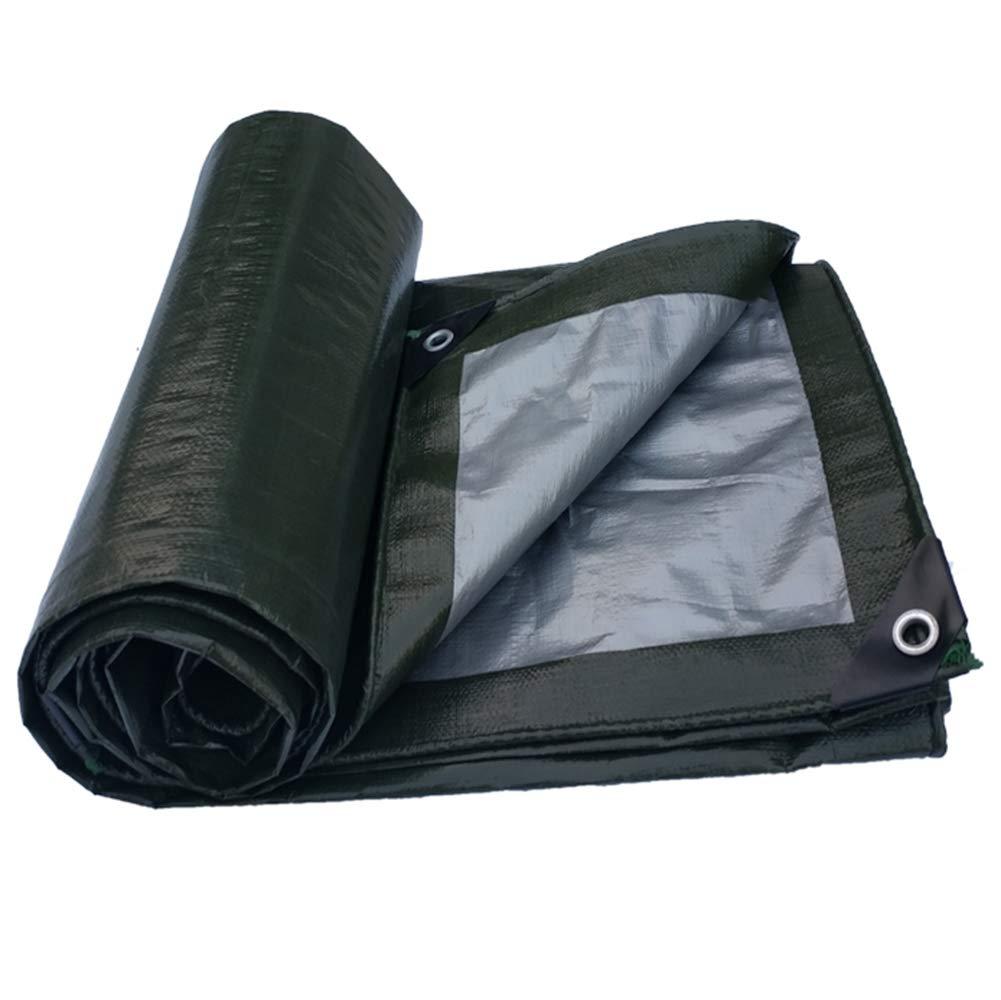 vert 45m FSBFF épaississez Le Tissu imperméable à l'eau en Plastique, imperméable à l'eau extérieur Tissu d'ombre Prougeection Solaire BÂche d'isolation Thermique BÂche d'auvent Tissu de Hangar Tissu