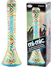 Mi-Mic Mikrofon karaoke dla dzieci, głośnik z bezprzewodowym Bluetooth i lampkami LED