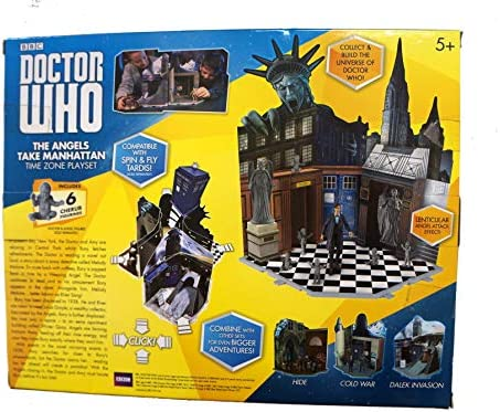 Doctor Who - Wave 3 - Time Zone Playset - THE ANGELS TAKE MANHATTAN