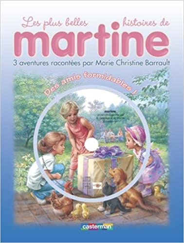 Martine Livres Cd Des Amis Formidables Livre Cd French