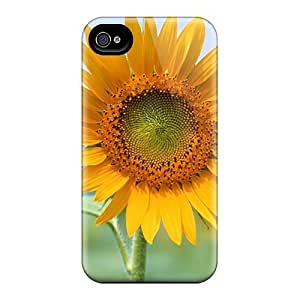 Case Cover Single Sun Flower/ Fashionable Case For Iphone 4/4s