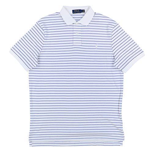 Polo Ralph Lauren Mens Interlock Polo Shirt (M, White)