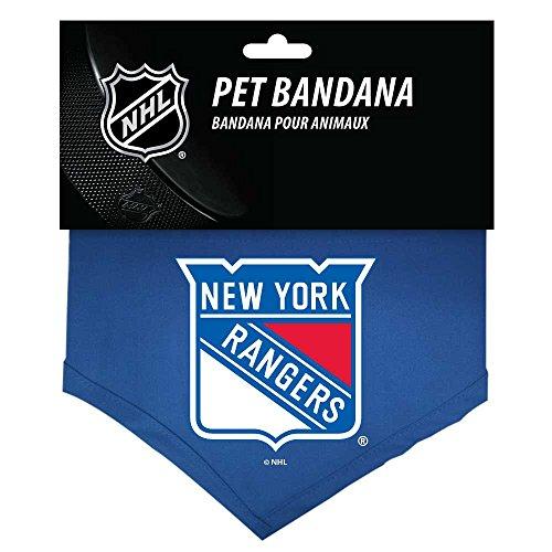 New York Rangers NHL Sports Team Logo Dog Bandana- Cotton - - Bandana Dog Logo