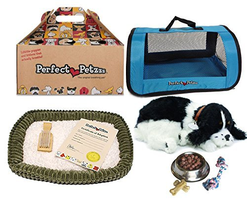 Perfect Petzzz Huggable Breathing Puppy Dog Pet Bed Cocker S