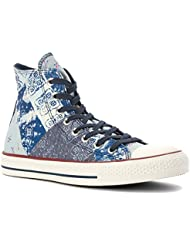 CONVERSE WOMENS ALL STAR MULTI PANEL Navy - Footwear/Casual 10
