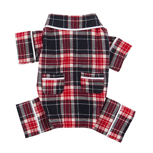 Fab Dog Flannel Dog Pajamas, 10