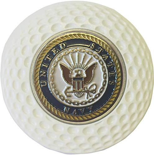 (Navy Midshipmen Golf Ball Marker in Acrylic Golf Style Poker CHIP Great Gift)