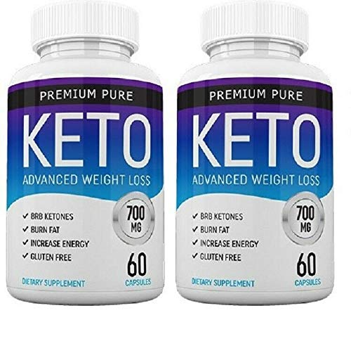 Premium Pure Keto 120 capsules - 2 Month Supply Free Fast Delivery