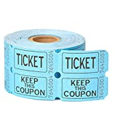 Double Roll of Raffle Tickets, 500ct