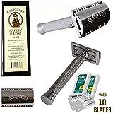 Barbero Safety Razor No.02 +10 Free Blades