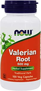 NOW Foods Valerian Root 500 mg,100 Count