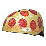 Cheap Krash Pizza Party Youth Bike/Skate Helmet (Multi – 54-58cm)