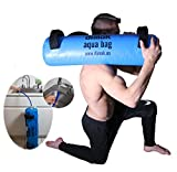 dimok Sandbag Alternative Aqua Bag Training Weight Bag – Adjustable Weights Portable Full Body Workout – Comes with a Foot Pump (45)