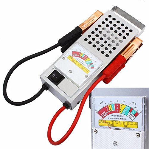 Testing Auto Volt Meter 6 & 12 Volts Battery Load & Charging Tester Charger Tool