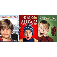 Home Alone 1/2/3 Home Alone 2: Lost in New York & Home Alone 3 Triple Movie DVD Bundle 25th Anniversary Holliday Collection