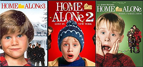 House Alone 1/2/three House Alone 2: Misplaced in New York & House Alone three Triple Film DVD Bundle 25th Anniversary Holliday Assortment