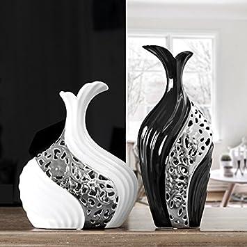 Sjzgd Wohnaccessoires Moderne Vase Wohnzimmer Dekoration Floral