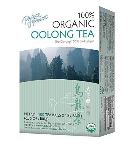PRINCE OF PEACE TEA,OG2,OOLONG, 100 BAG