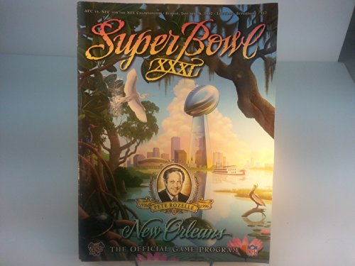 Super Bowl XXXI (New Orleans - The Official Game ()