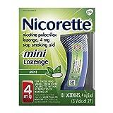Nicorette Stop Smoking Aid Mini Lozenges 4 mg Mint