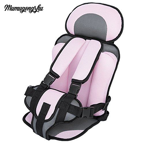 Candora Kids Safety Car Seat 3-12 Year Old Portable Children?s Chairs Updated Version Thickening Sponge Baby Stroller Cushion Accessories