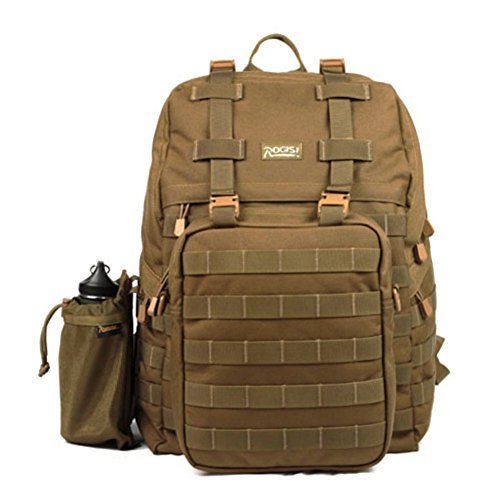Sincere® Verpackung / Rucksäcke / Mobil / Ultralight Armee Fans Tactical Camping / Wandern Outdoor-Kletterpaket braun 40L