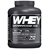 Cellucor Whey Protein Isolate Powder, Post Workout Recovery Drink, Molten Chocolate, 70 Servings, 2380g