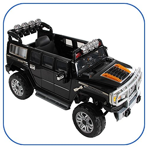 New Big Hummer H3 Style Kids Ride on Powered Wheels Battery Remote Control Toy Car - Hummer H3 Ride On
