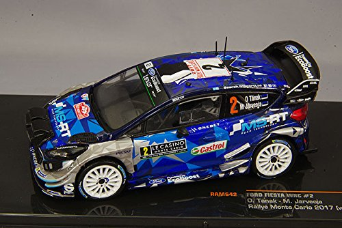 FORD FIESTA WRC # 2/ou tanak Rallye Monte Carlo 2017/IXO 1 43
