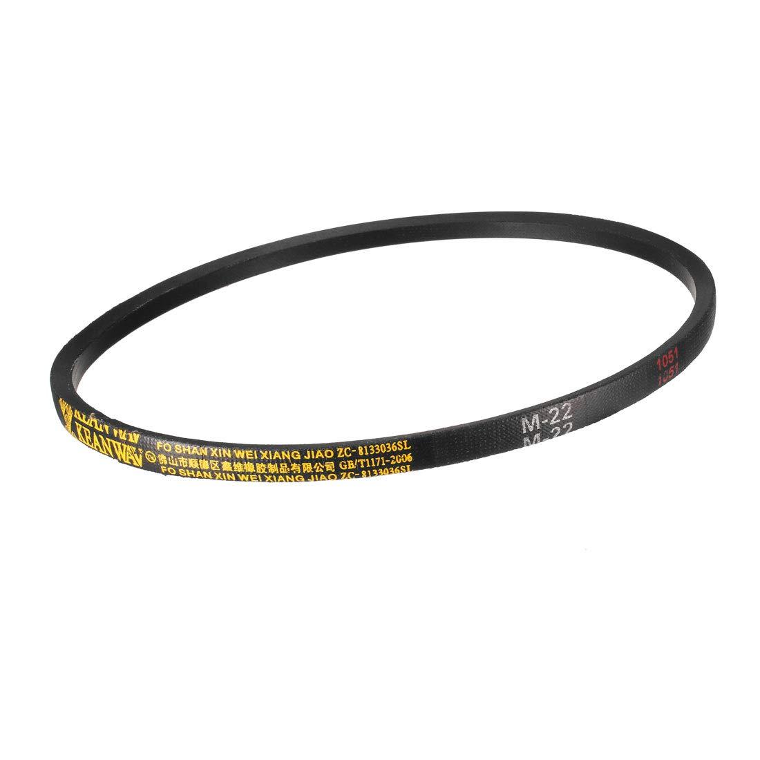 uxcell/® M40 Drive V-Belt Girth 40-inch Industrial Power Rubber Transmission Belt