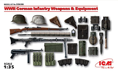 - WWII German Infantry Weapons and Equipment 1/35 ICM 35638