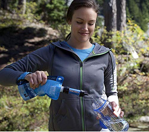 2 Pack,Blue+Green Asawyer Product Mini Portable Sewage Filtration System